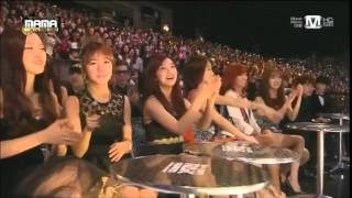 MAMA Collaboration Stages From 2011 To 2014 With K Idol S Reaction Cut