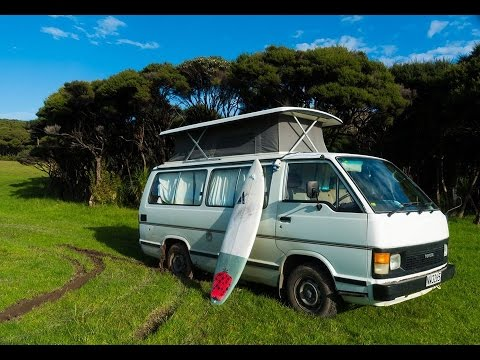 Van Tour of My New Zealand Home and Mobile Office