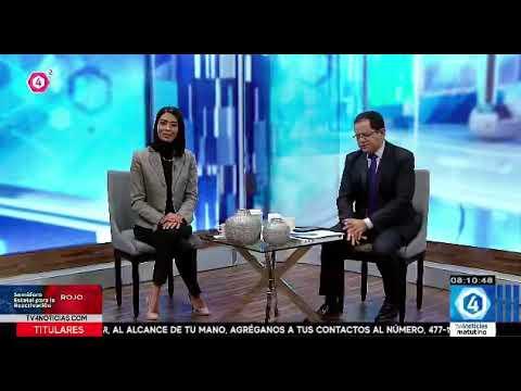 Entrevista de Gabriel Torres Espinoza en TV4 de Guanajuato. Estreno internacional de Manos a la Obra