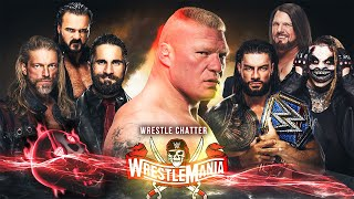 WWE Wrestlemania 37 Match Card Predictions - All Matches | Brock Lesnar, Roman Vs Edge | Highlights