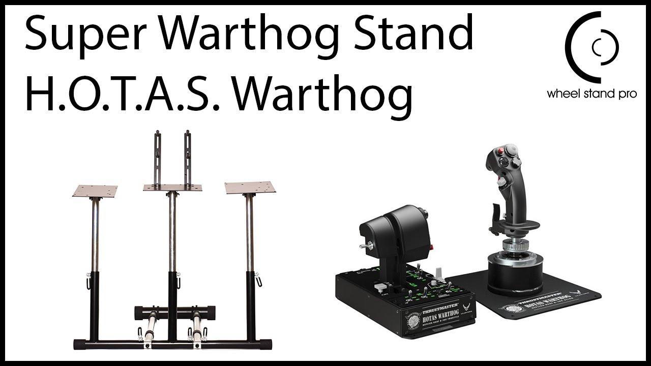 WSP Super Warthog - Thrustmaster HOTAS Warthog setup