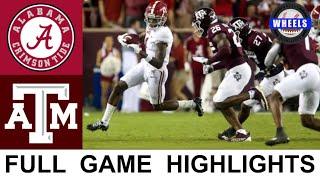 #1 Alabama vs Texas A&M Highlights   College Football Week 6   2021 College Football Highlights
