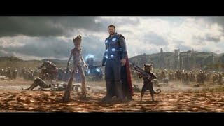 Thor entry in avengers infinity war