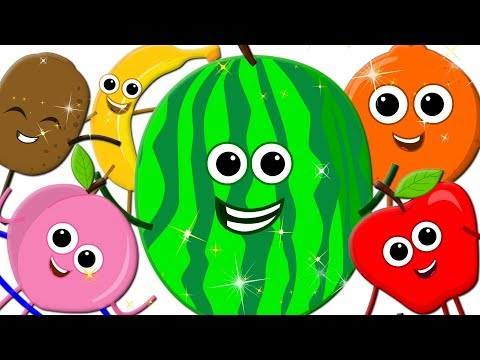 Learn Colors With Fruits | Surprise Eggs | Fruits Colors | Song Learning Video For Kids kids tv