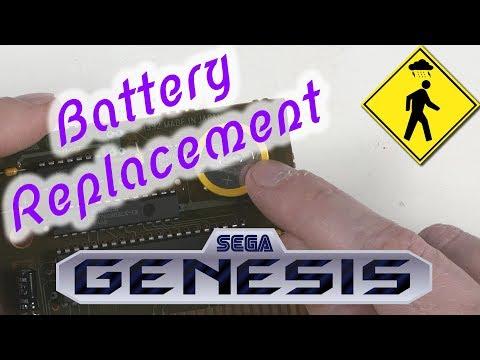 Sega Genesis/Mega Drive Games - How to Replace the Battery thumbnail