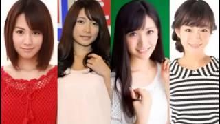 アイドリング!!!6号・外岡えりかさん、9号・横山ルリカさん、14号・酒井...
