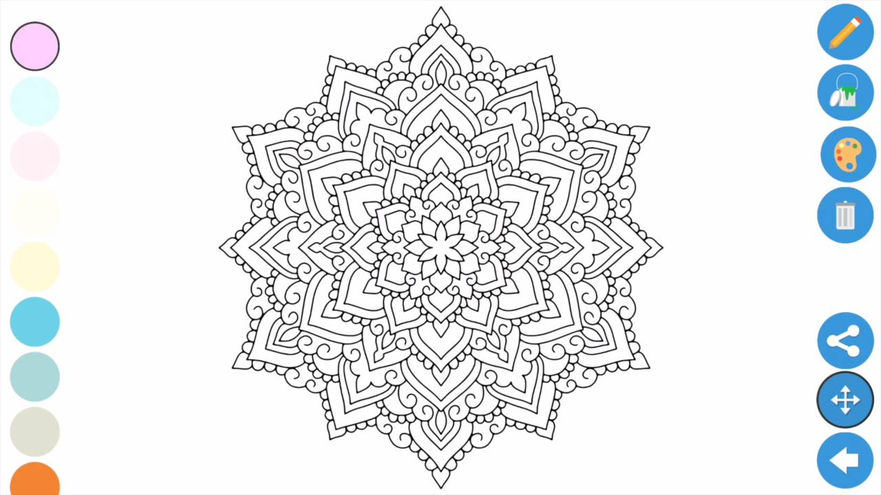 Best Coloring apps for Adults - Zen Coloring book for ...