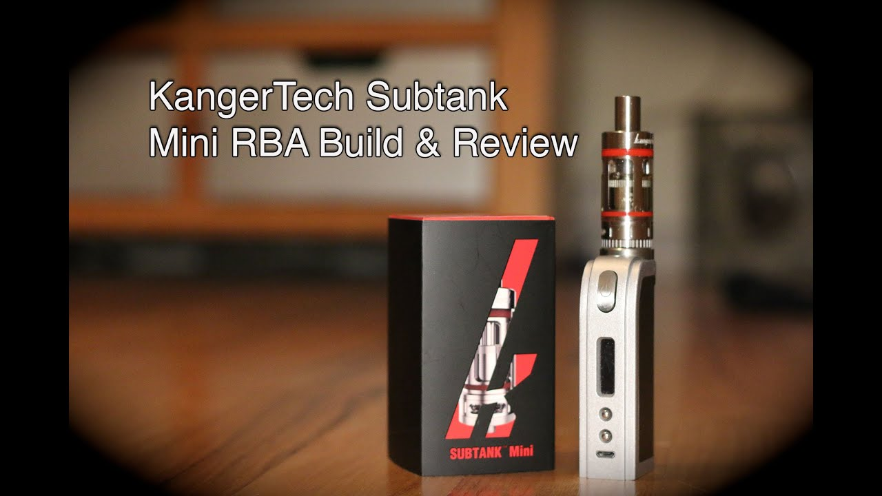 The latest from kangertech, the subox mini starter kits includes a compact 50w box mod with a matching kanger subtank mini.