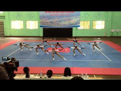 Bài quy định aerobic THPT Phan Châu Trinh Đà Nẵng 2013