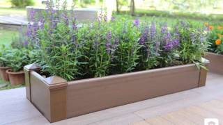 Building a garden bench box seat