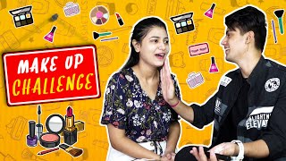 MAKEUP CHALLENGE WITH MOHAK | SURBHI RATHORE |
