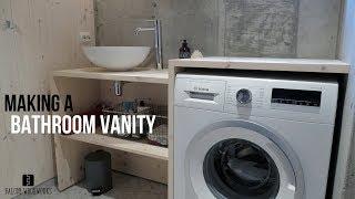 Making a Bathroom Vanity!
