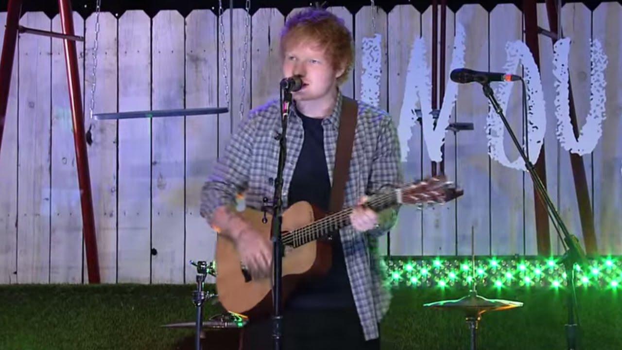 Download Ed Sheeran - Sing (Live at TFIOS Premiere)