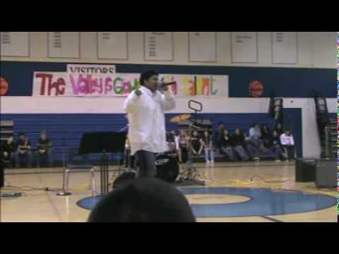 noe rappin at caruthers talent show