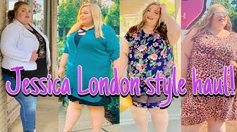 Jessica London plus size look book!