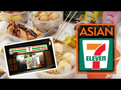EATING AT 7-ELEVEN IN ASIA! - Fung Bros Food
