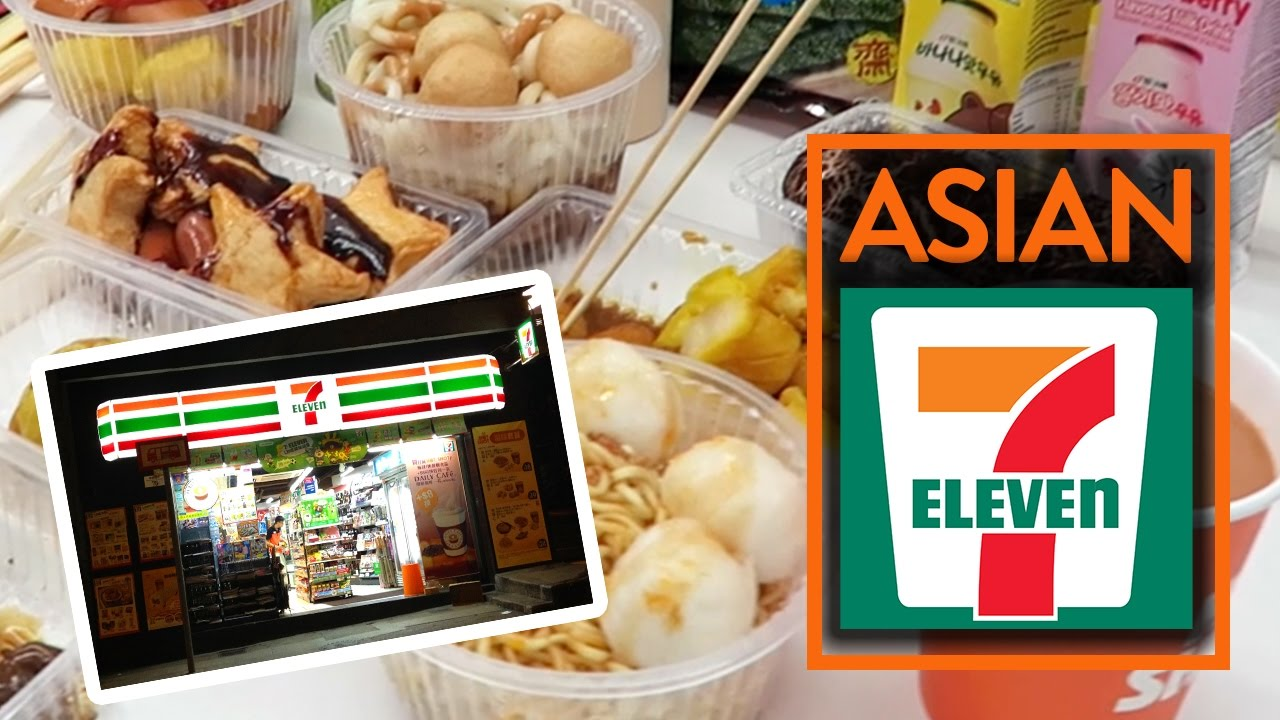 Eating At 7 Eleven In Asia Fung Bros Food Youtube