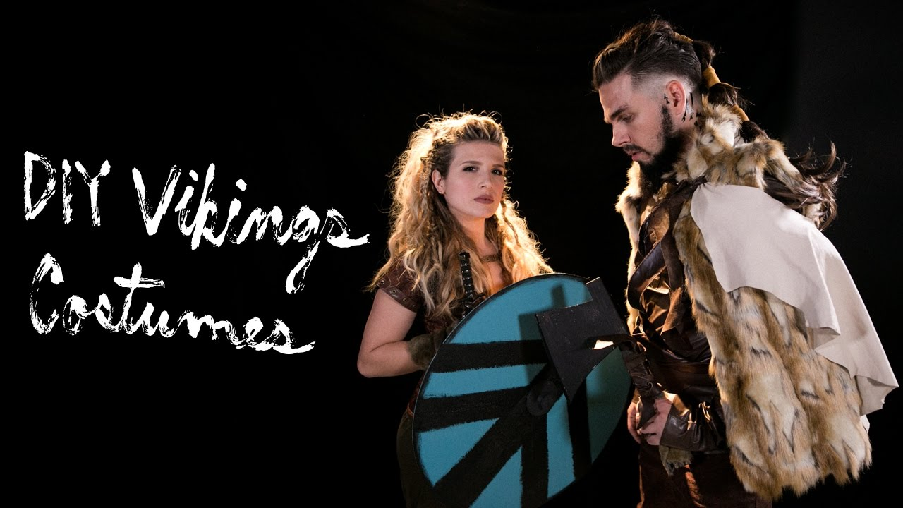 sc 1 st  YouTube & DIY Halloween Costumes: Vikings and Game Of Thrones - YouTube