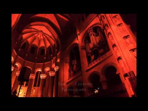 Paul Winter Solstice Concert 2015 - Sun Rising Scene w/Organ Improv (Audio)
