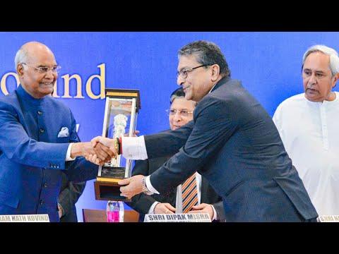 President Ram Nath Kovind At National Law University Odisha Cuttack | Third Foundation Day Lecture