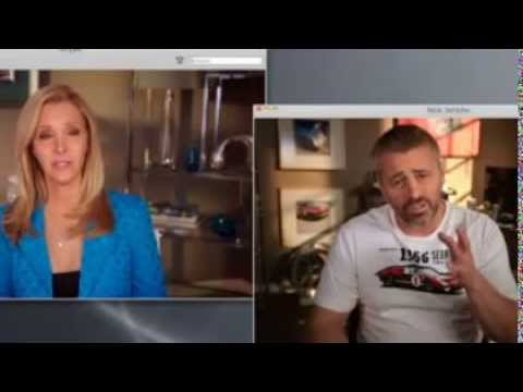 Web Therapy Matt LeBlanc with Lisa Kudrow 'FRIENDS REUNION' (Part 3) - Used Cards