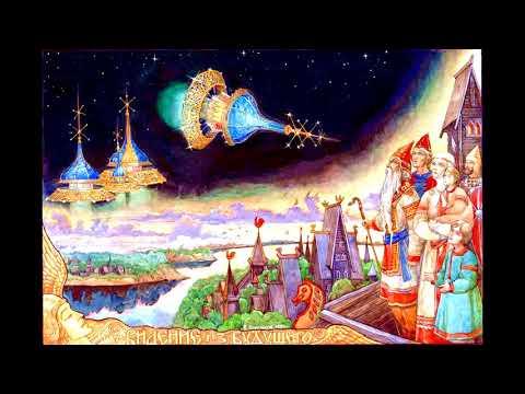 Небесный Кремль летит из будущего медитация.