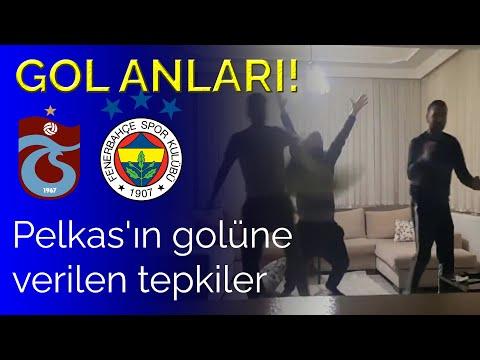Gol Anları! | Dimitris Pelkas'ın golüne tepkiler! Trabzonspor 0-1 Fenerbahçe