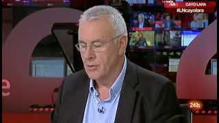 """Entrevista a Cayo Lara en """"La Noche en 24 horas"""" (Canal 24 Horas 25.09.2013)"""