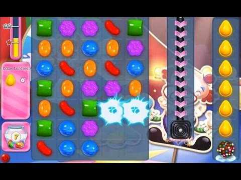 Candy Crush Saga Level 1385 [ match two color bombs ] NO ...