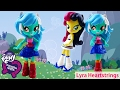 My Little Pony Lyra Heartstrings Equestria Girls Mini Dolls Custom | Evies Toy House
