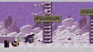 [Sega Genesis] - X-Men 2: Clone Wars - Level 1 - Siberia (Nightcrawler)
