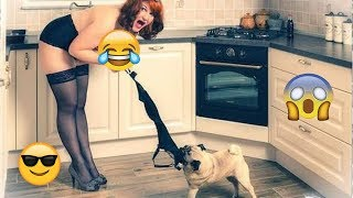 Try Not To Laugh Challenge - Funny Cat & Dog Vines compilation 2017 this is a so funny video i ever