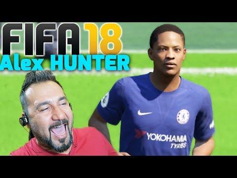 FIFA 18 DEMO ALEX HUNTER OYNADIM! | SAY MY NAME!