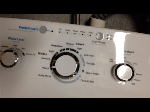 My New GE Top Loader Washing Machine Review