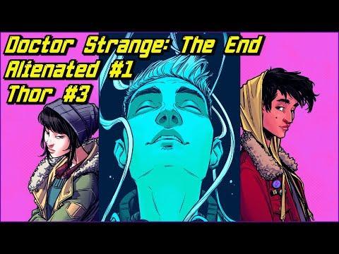 Новинки 19.02: Thor #3, Doctor Strange: The End, Alienated #1