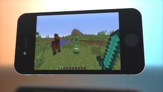 REZENDE JOGA MINECRAFT PARA CELULAR! - Minecraft Pocket Edition MCPE