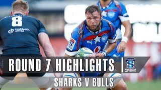 ROUND 7 HIGHLIGHTS: Sharks v Bulls – 2019