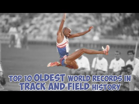 Longest Standing World Records in Track and Field History