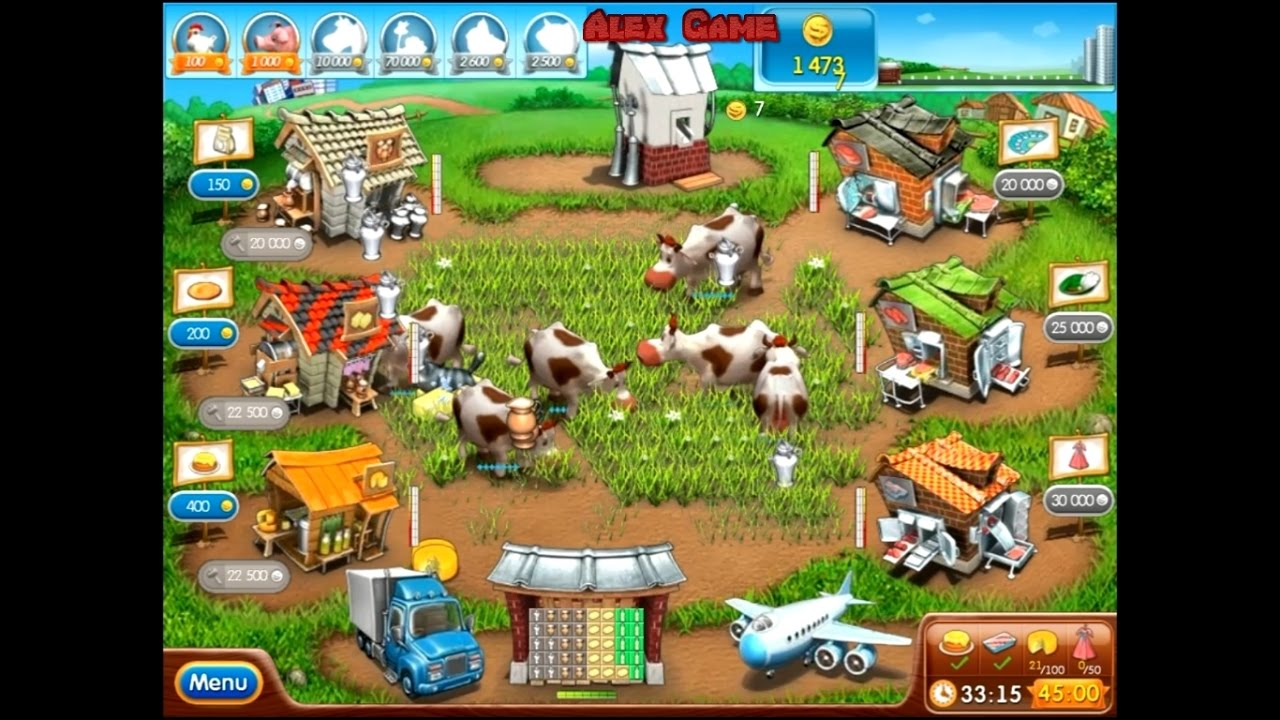 как скачать игру веселая ферма мод много денег