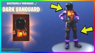 "NEW ""DARK VANGUARD"" SKIN GAMEPLAY in FORTNITE! Unlock LEGENDARY Characters! (Fortnite Battle Royale)"