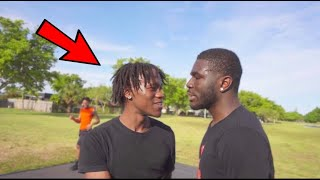 1V1 Basketball Game Gone Wrong *l WANT TO FIGHT*