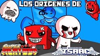 LOS ORIGENES DE ISAAC Y  MEAT BOY
