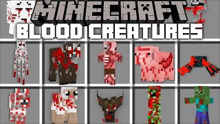 Minecraft BLOOD MONSTERS MOD / STOP THESE CREATURES DESTROYING YOUR WORLD !! Minecraft Mods