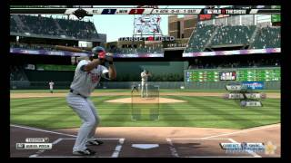 MLB 11 The Show - Kansas City Royals vs Minnesota Twins at Target Field - 6th Inning