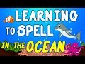 Ocean Animals for Kids - Sea Animal Songs for Children - Learning to Spell - Toddlers Preschool