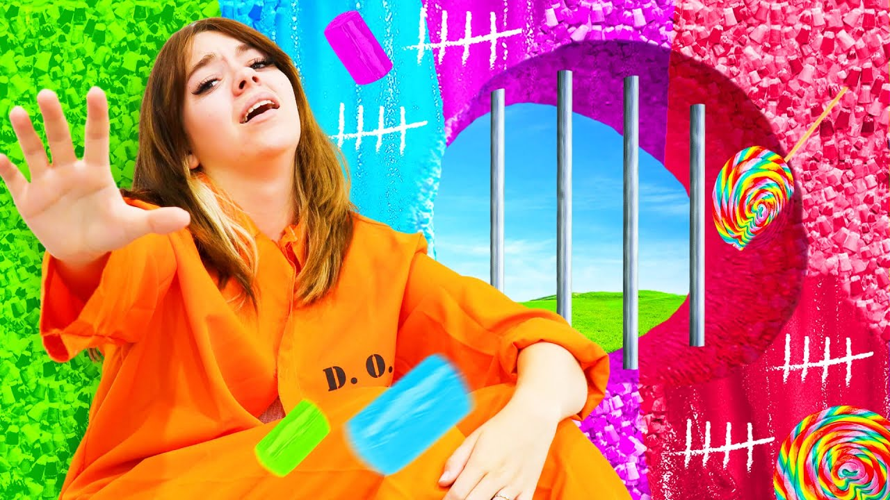 I Trapped My Girlfriend in CANDY PRISON!