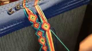 Repeat youtube video Lust am Knüpfen - 2. Das Anknüpfen - Anleitung für Anfänger - instruction for bracelets