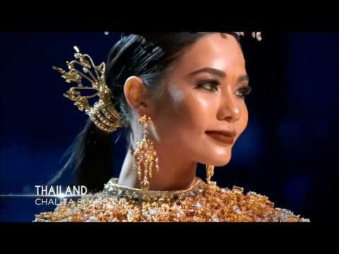 Chalita Suansane (Miss Thailand) OVERALL performance at Miss Universe 2016