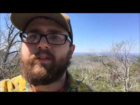Backpacking Cheaha State Park in Talladega National Forest