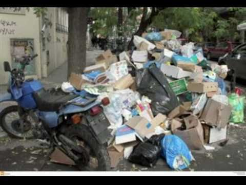 This Is The Real Greece - The Trash in Greece - Athens, Thessaloniki